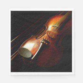 Music - Violin - The classics Paper Napkin