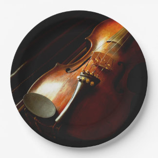 Music - Violin - The classics Paper Plate