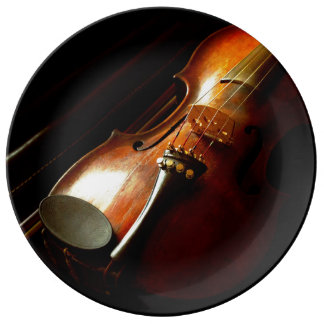 Music - Violin - The classics Plate