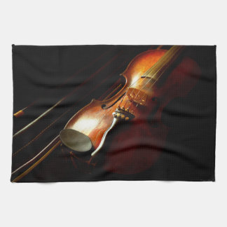 Music - Violin - The classics Tea Towel
