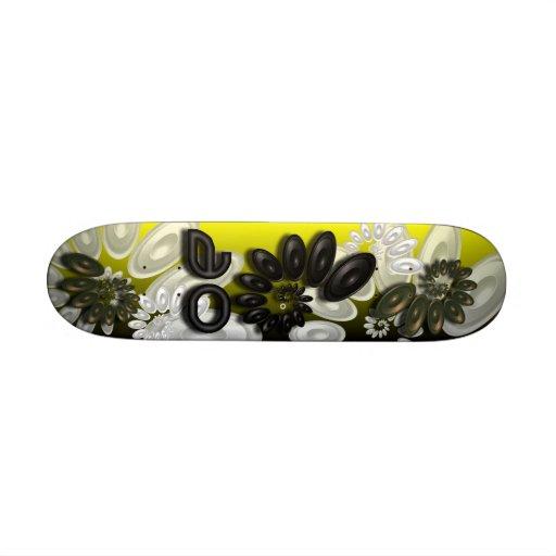 Music Vortex 3.1 Gold Skateboard