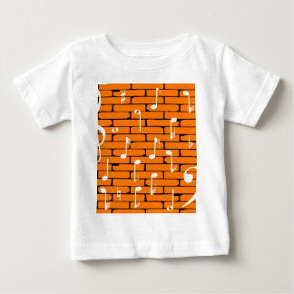 Music Wall Background Baby T-Shirt