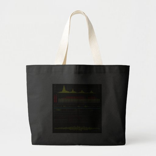 Music Waves & Audio Equalizer2 Tote Bag