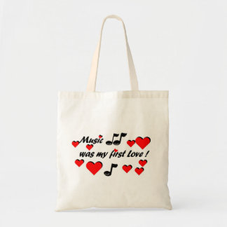 Music which my roofridge Love Tote Bag