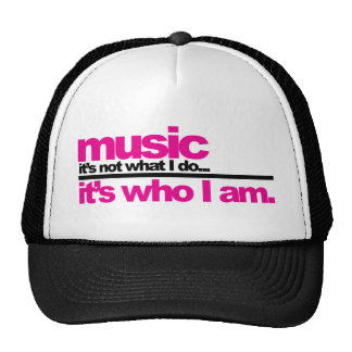 Music - Who I Am Cap