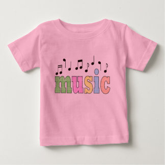 Music with Notes Tee Shirts
