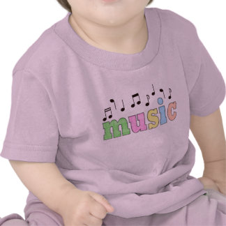 Music with Notes Tees