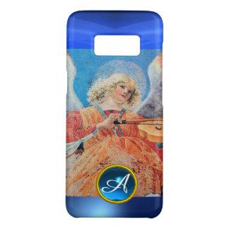 MUSICAL ANGEL , Blue Sapphire Gemstone Monogram Case-Mate Samsung Galaxy S8 Case
