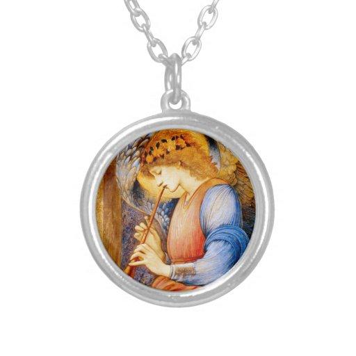 Musical Angel by Edward Burne-Jones Custom Jewelry