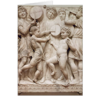 Musical angels, relief from the Cantoria Cards