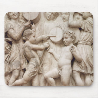 Musical angels, relief from the Cantoria Mouse Pad