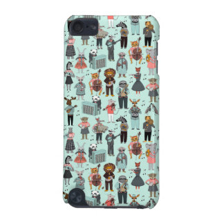 Musical Animal Alphabet - Blue / Andrea Lauren iPod Touch (5th Generation) Cases