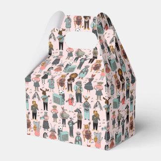 Musical Animal Alphabet - Pink / Andrea Lauren Favour Boxes