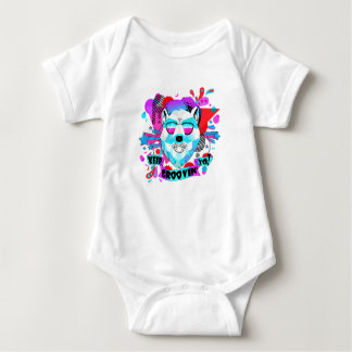 Musical Bear Baby Bodysuit