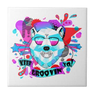 Musical Bear Tile