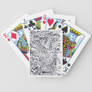 Musical Bicycle Playing Cards