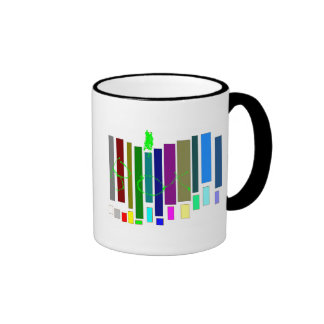 Musical Boxes Ringer Mug