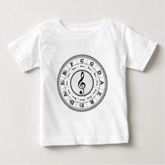 Musical Circle of Fifths T-shirt