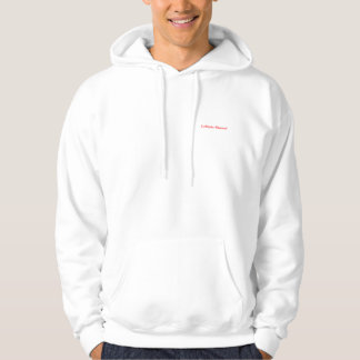 Musical collection hooded pullover