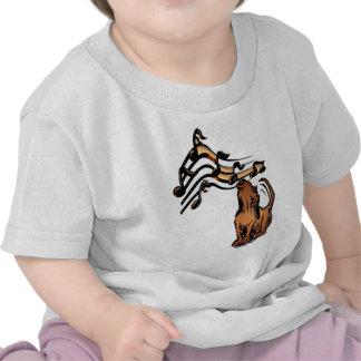 Musical Dog Tee Shirt