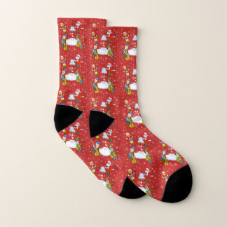 Musical Elf Band Socks 1