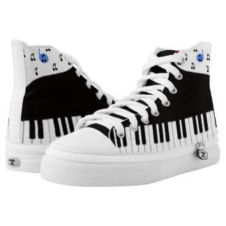 Musical Genius Printed Shoes