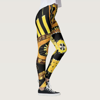 Musical Gold. Leggings