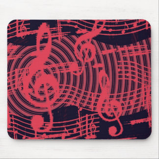Musical Graffiti Mouse Pad