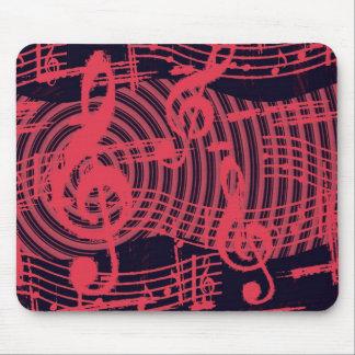 Musical Graffiti Mouse Pad