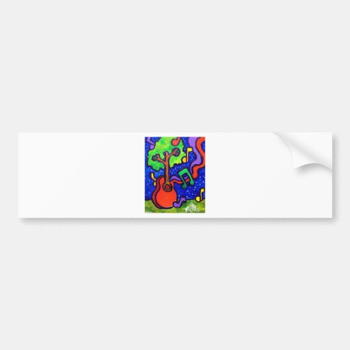 Musical Greetings by piliero Bumper Sticker