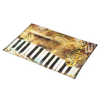 Musical Grunge Placemat