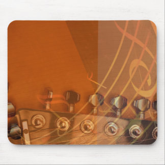Musical Guitar Mouse Pad