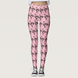 Musical Heart Leggings