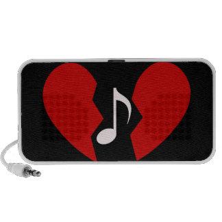 Musical heart speakers Customizable