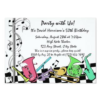 Musical Hip Hop Invite