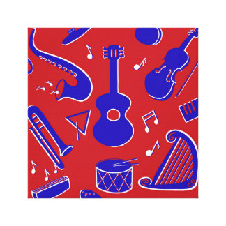 Musical Instruments Canvas Print