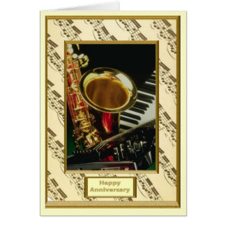 Musical instruments card