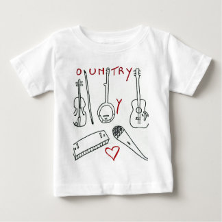 MUSICAL INSTRUMENTS COUNTRY.jpg Baby T-Shirt