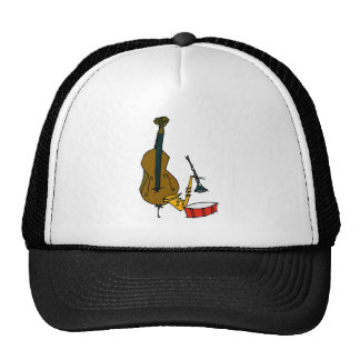 Musical Instruments Trucker Hat