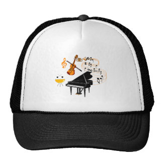 Musical Instruments Hats