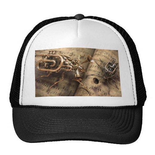 Musical instruments mesh hat