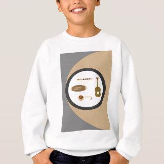 musical instruments sweatshirt