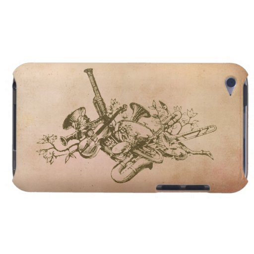 Musical Instruments, Vintage iPod Touch Case