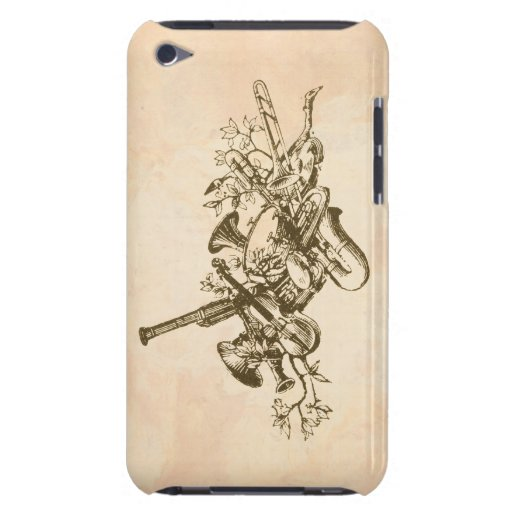 Musical Instruments, Vintage Barely There iPod Covers