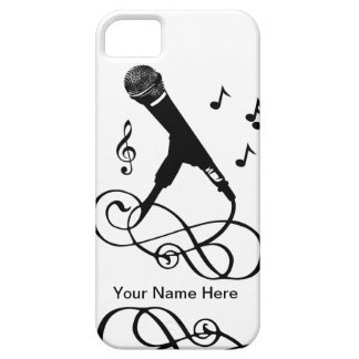 Musical iphone5 singer musician music microphone iPhone 5 cover