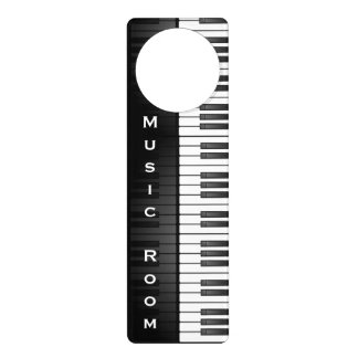 Musical Keyboard Design Door Hanger