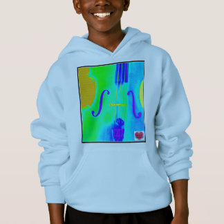 Musical Lifetimes Kids' Cello Music Hoodie