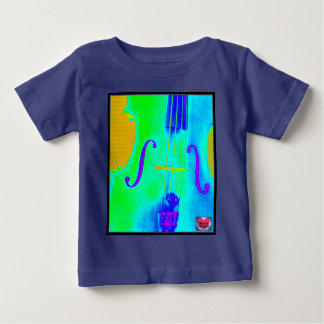 Musical Lifetimes Kid's Green Cello Music T-Shirt