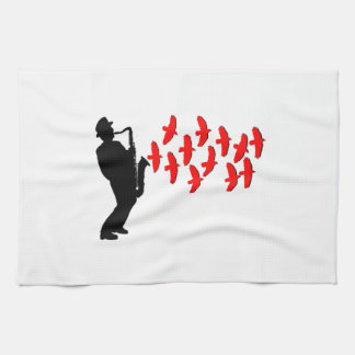 Musical Melody Tea Towel