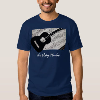 Musical Men's Basic Dark T-Shirt